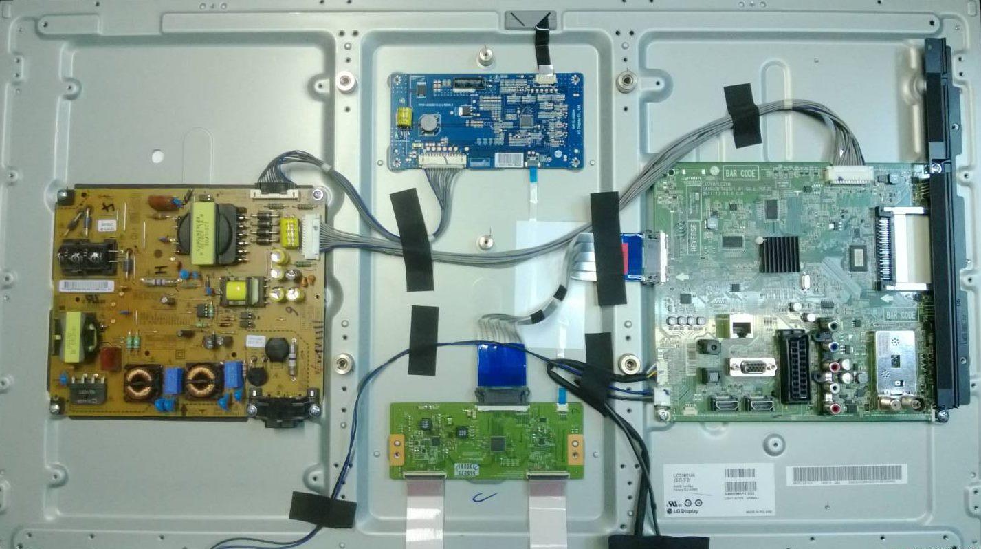 LCD TV Reparatur Image